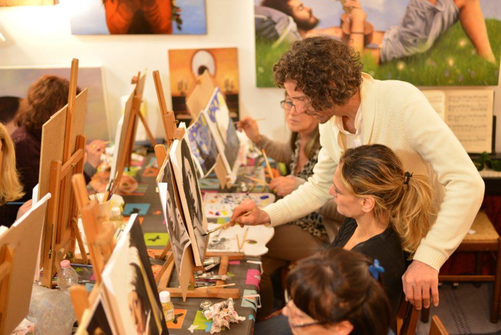 Esposito Andrea lezioni di pittura