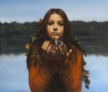 """""""Alla fonte"""", olio su tela, 60x70cm, 2013"""