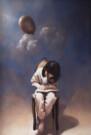 """""""C'era una volta"""", olio su tavola, 50x30cm, 2008"""