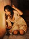 """""""Il canto di Alice"""", olio su tela,100x70cm, 2010"""