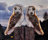 """""""L'appuntamento"""", olio su tela, 50x60cm, 2013"""
