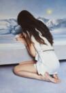"""La lettera bianca"", olio su tela, 70x50cm, 2016"