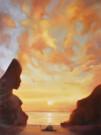 """""""Le tre età dell'uomo"""", olio su tela, 40x30cm, 2014"""