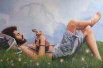 """""""Vagamondo"""", olio su tela, 80x120cm, 2014"""